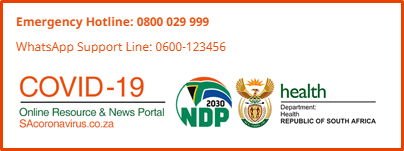 SA Government Covid-19 portal